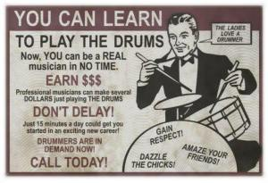 Drummers Get The Girls